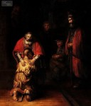 REMBRANDT - THE RETURN OF THE PRODIGAL SON 20X24   OIL PAINTING MUSEUM QUALITY