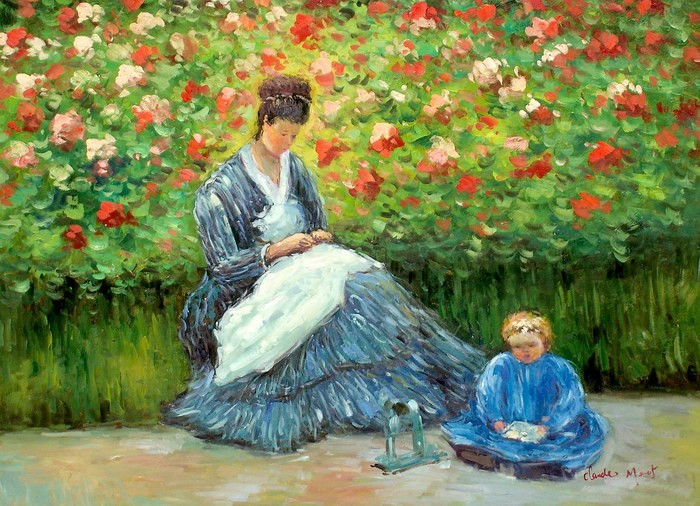 mother and child relationship paintings by monet