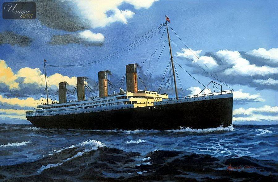 Titanic Hot Painting
