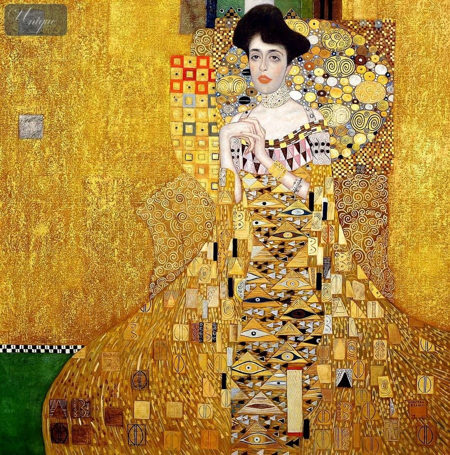 Oil paintings museum quality reproductions modern art for Gustav klimt original paintings for sale
