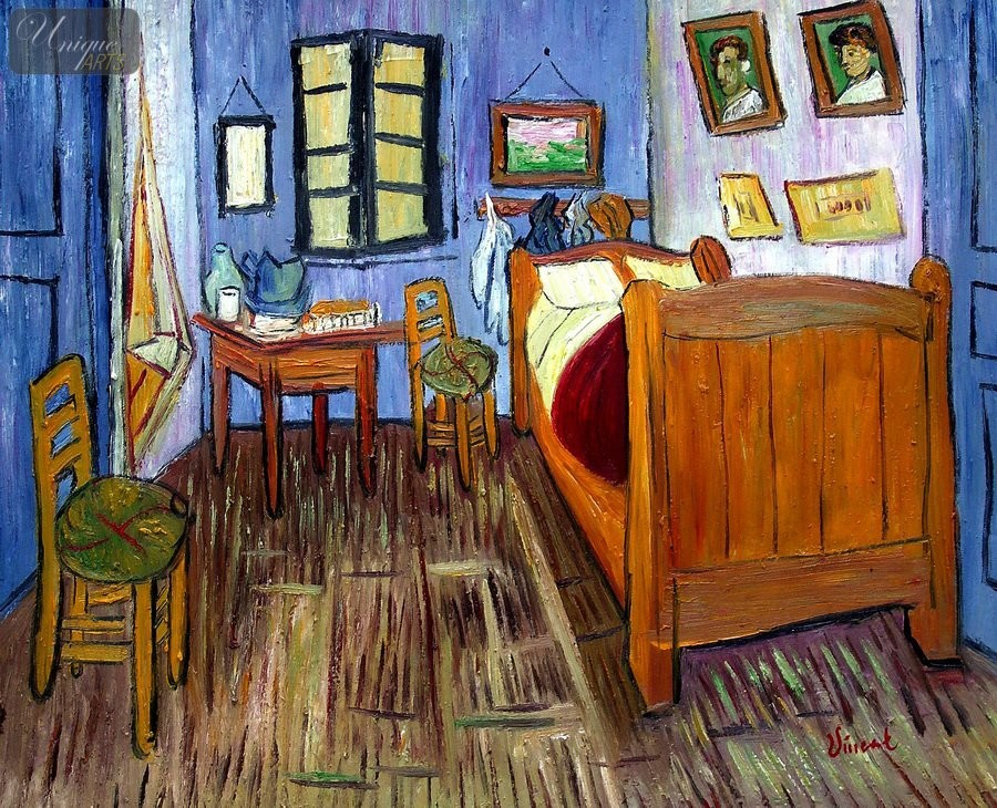 details about vincent van gogh bedroom in arles 20x24 reproduction
