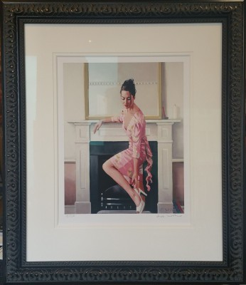 Jack Vettriano - Model in Westwood -  Signed Limited Edition Print  – image 1