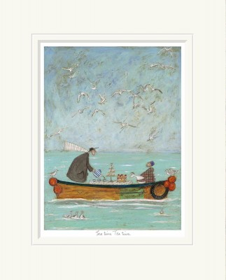 Sea Time Tea Time - Limited Edition Print by Sam Toft – image 1