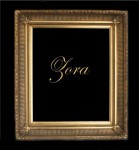 "5"" GOLD FLUTED DECORATIVE (SWEPT) FRAME ""ZORA"""
