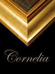 2 1/2  BESPOKE GOLD FRAME  CORNELIA