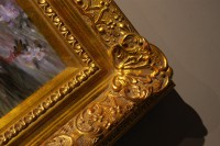 4 1/2  ORNATE GOLD (SWEPT) FRAME  GABRIELLA