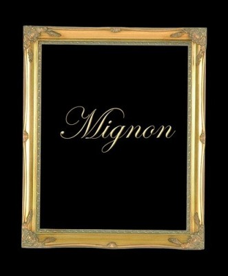"2"" GOLD ORNATE DECORATIVE (SWEPT) FRAME ""MIGNON""  – image 1"