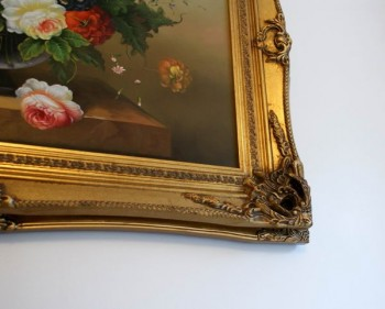 "5"" DOUBLE BARRELLED ANTIQUE GOLD (SWEPT) FRAME ""MYRA""  – image 3"