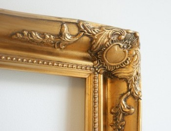"3"" ANTIQUE GOLD (SWEPT) FRAME ""NOVA""  – image 4"