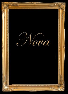 "3"" ANTIQUE GOLD (SWEPT) FRAME ""NOVA""  – image 1"