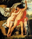 "PETER PAUL RUBENS - VENUS AND ADONIS 20x24 "" OIL PAINTING MUSEUM QUALITY – image 2"