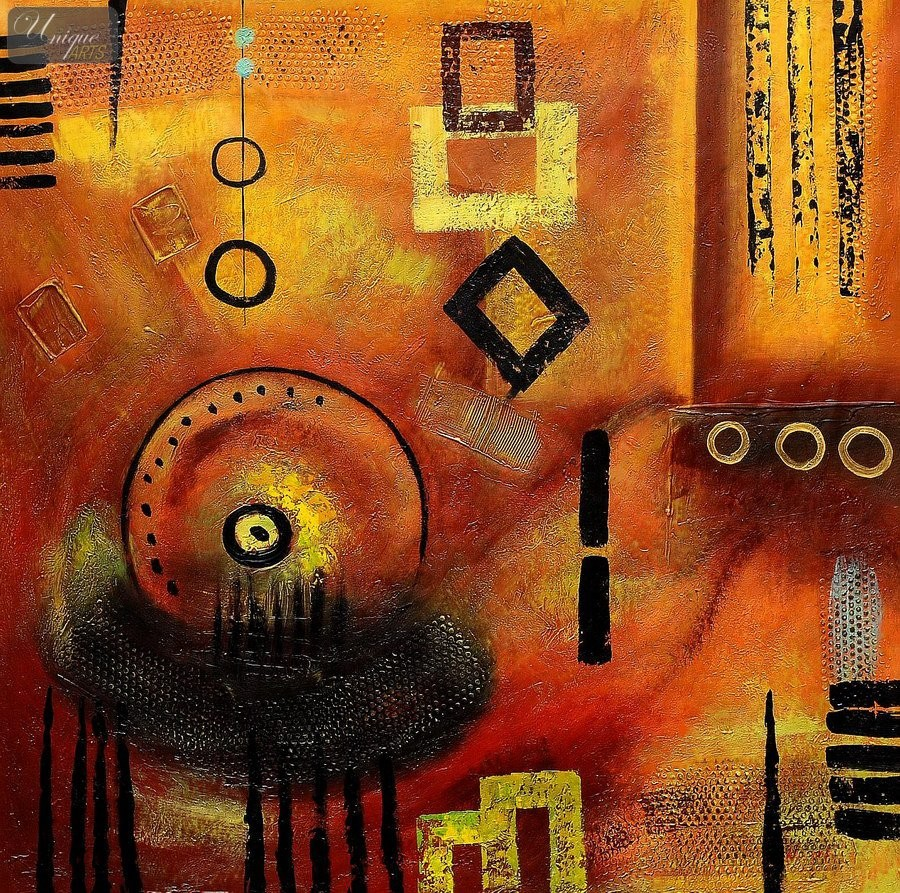 Collage Abstract Artists Abstract African Collage