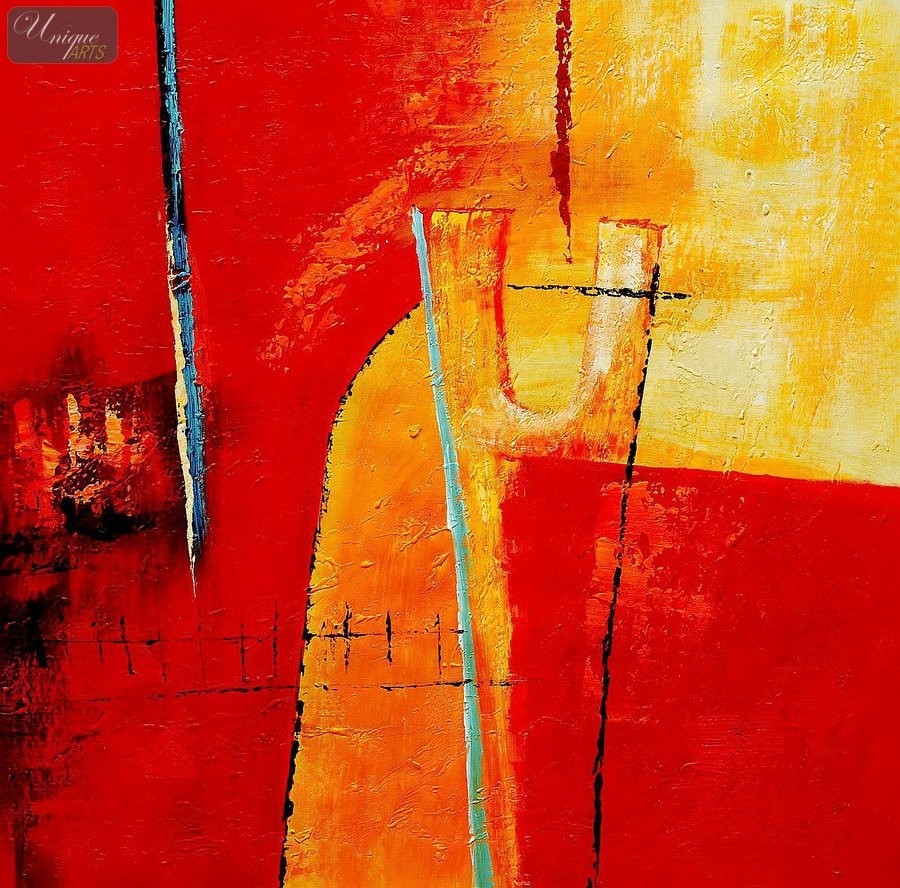 Abstract Fire Paintings Abstract The Fire Trap 32x32