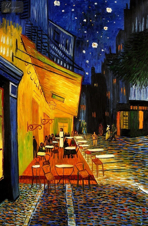 Unique arts webshop for Terrace night